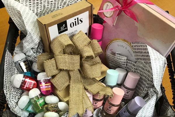 Win this social basket
