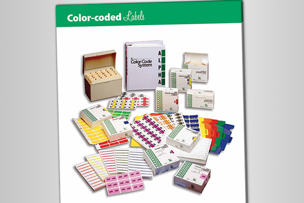 Color-Coded Labels Catalog