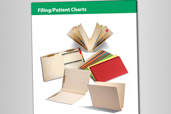 Filing/Patient Charts Catalog