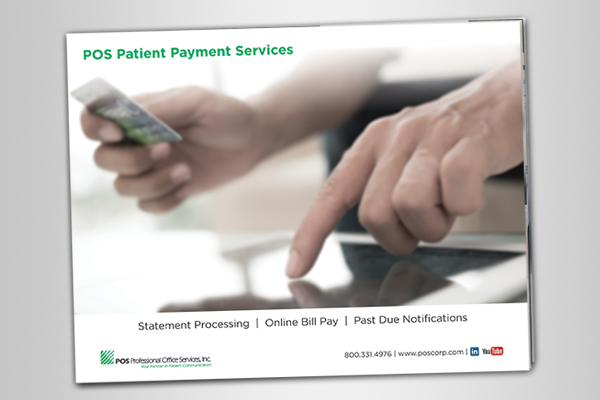 POS Patient Payment Services Book