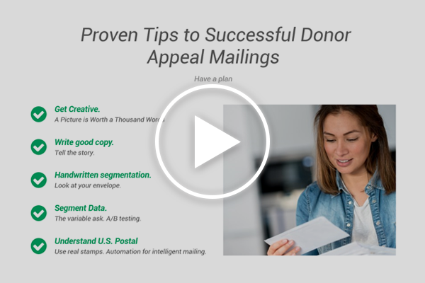 Tips to Successful Donor Appeal Mailings