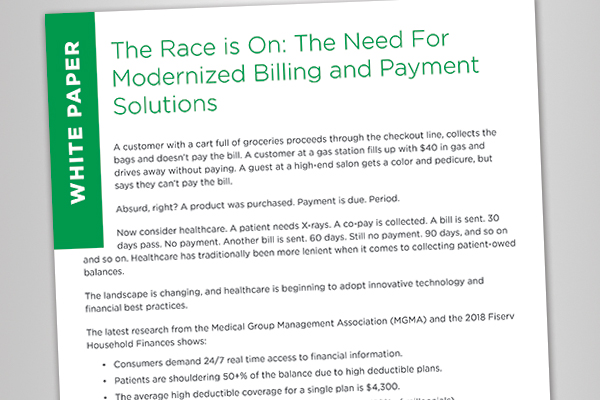 The Need For Modernized Billing and Payment Solutions