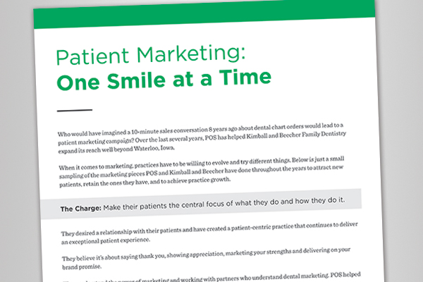White Paper: Patient Marketing: One Smile at a Time