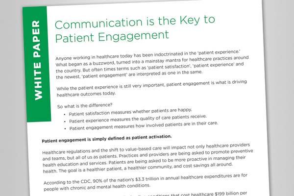 Communication is the Key to Patient Engagement