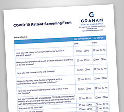 COVID-19 Patient Screening Forms