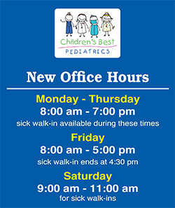 POS - Healthcare Office Hours Sign