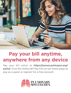 POS Practice Signage Online Bill Pay